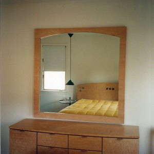 mirror in bedroom