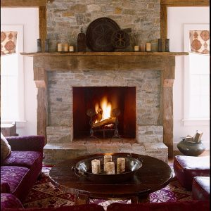 fireplace in Stamford, Greenwich & New Canaan, CT