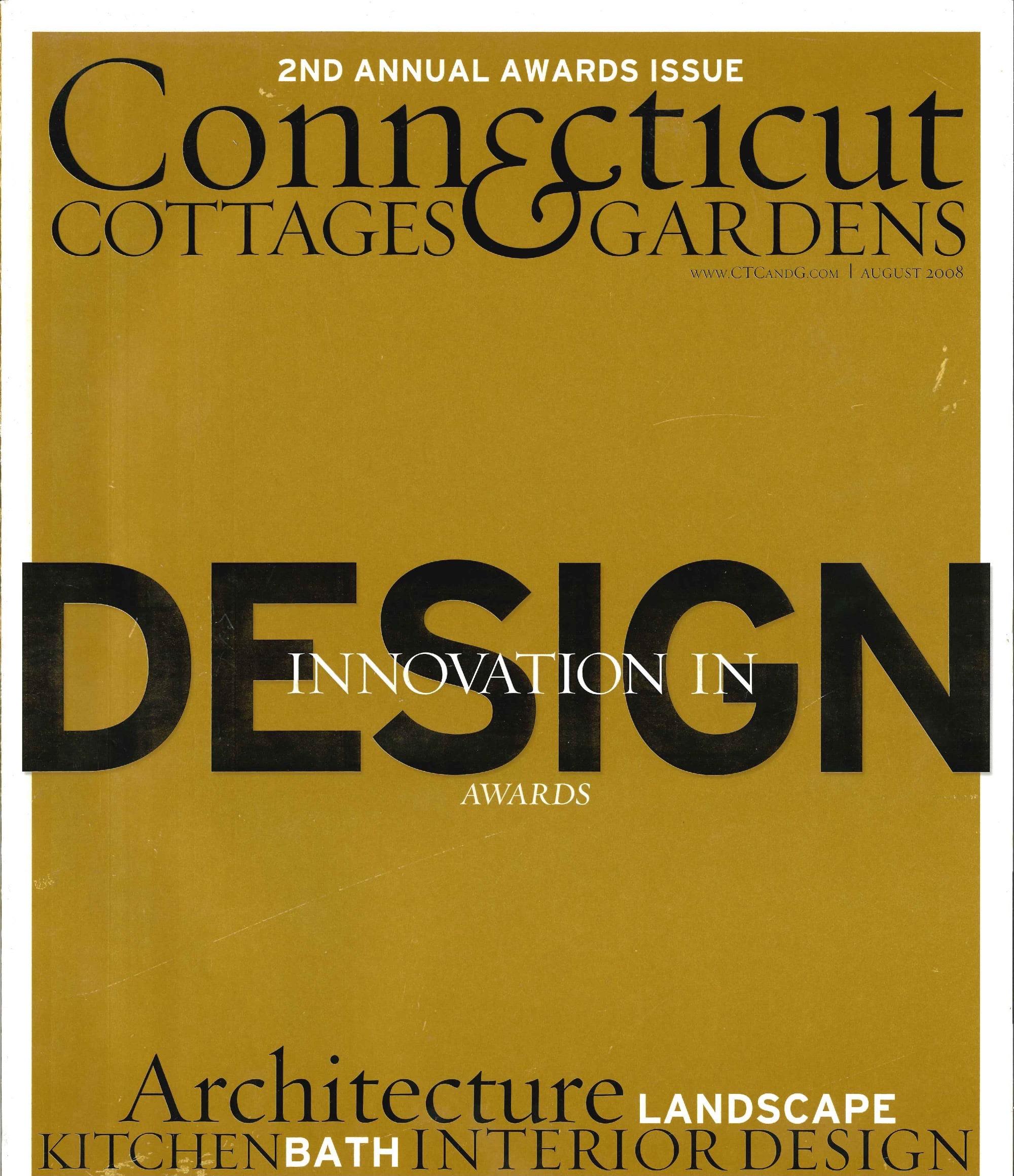 Connecticut Cottages & Gardens - August 2008