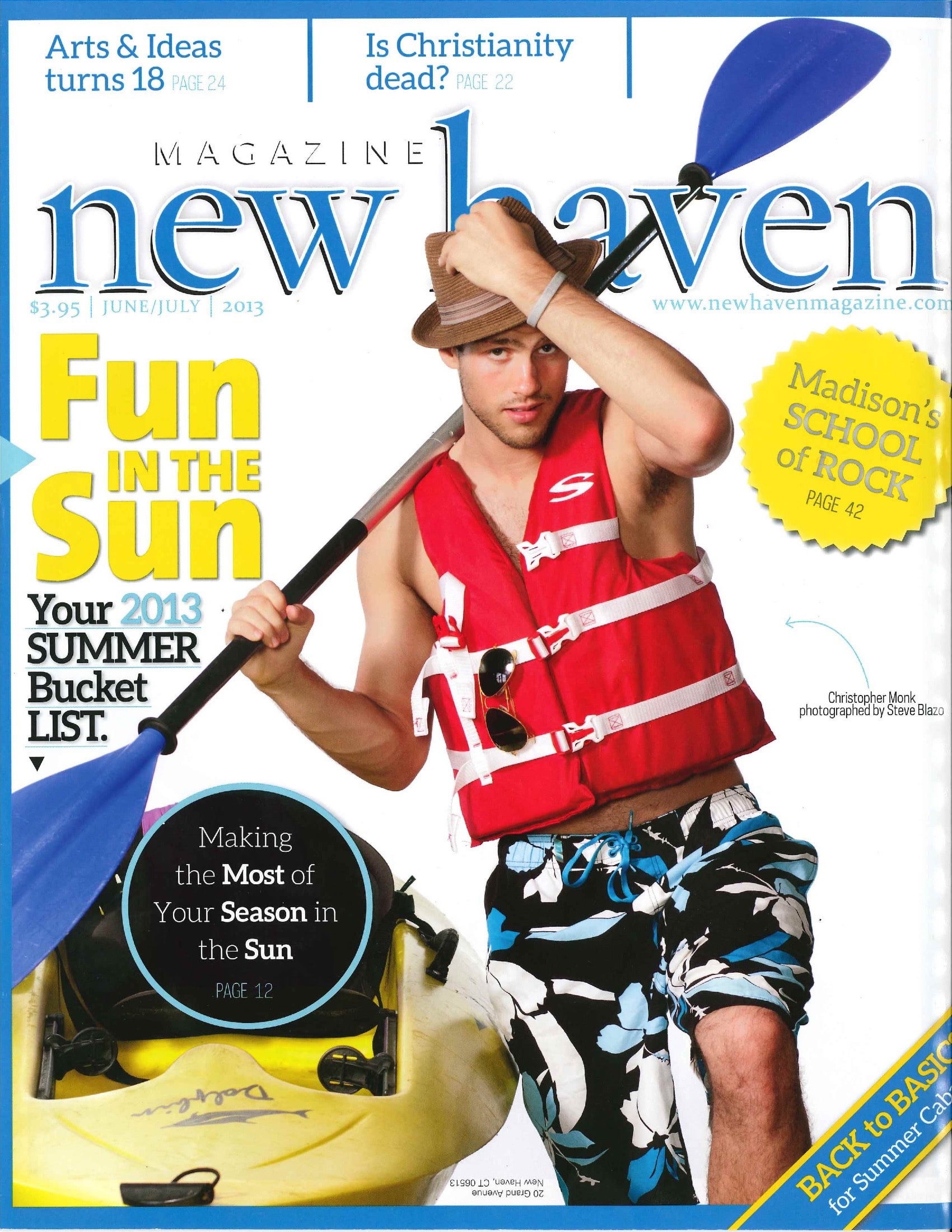 New Haven Magazine - June 2013